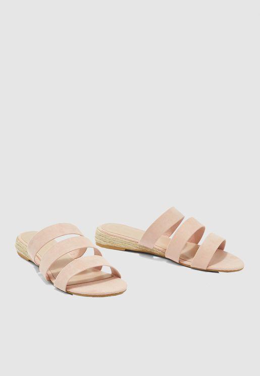 Forever Triple Strap Sandal