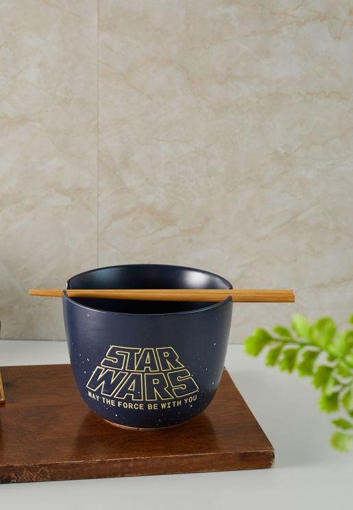 Star Wars May The Force Be With You Bowl