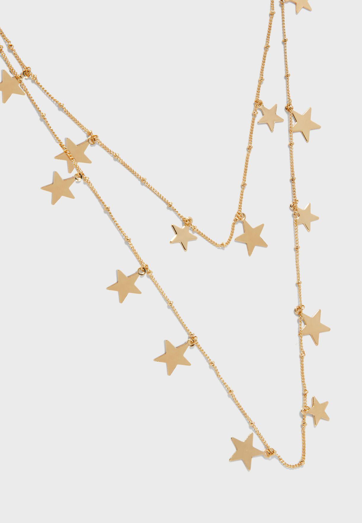 عقد بحليات نجوم