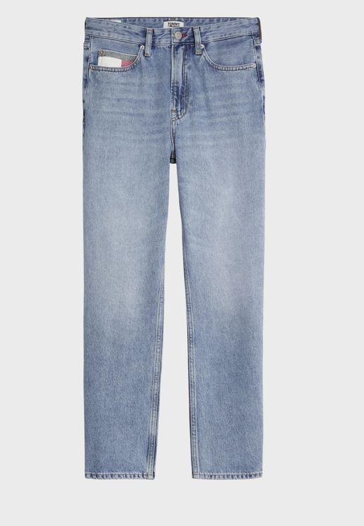 Harper High Rise Straight Jeans