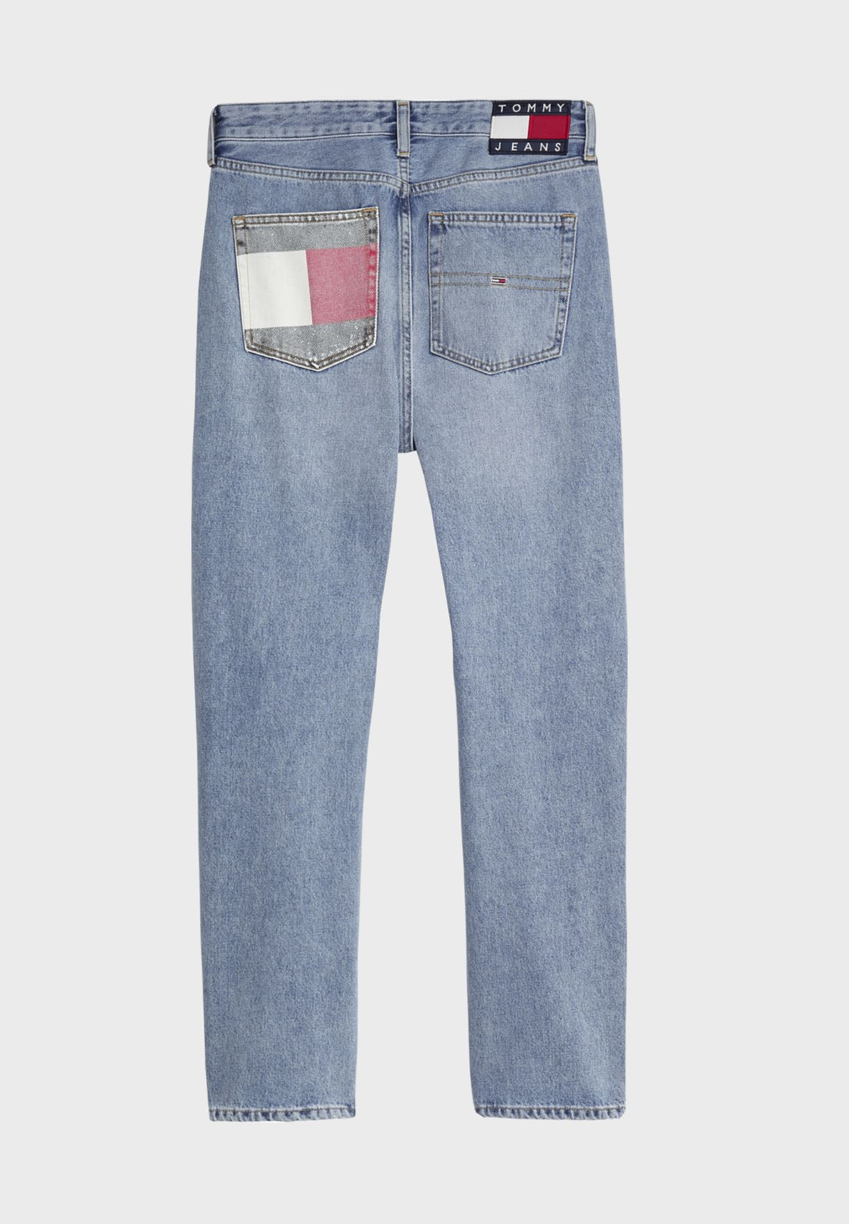 Harper High Rise Straight Jeans