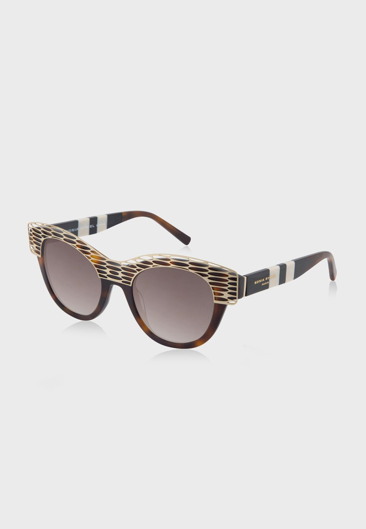 L SR778102 Oval Sunglasses