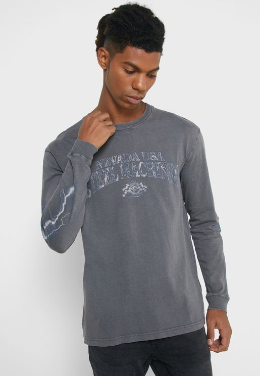 Steel Machines Crew Neck T-Shirt