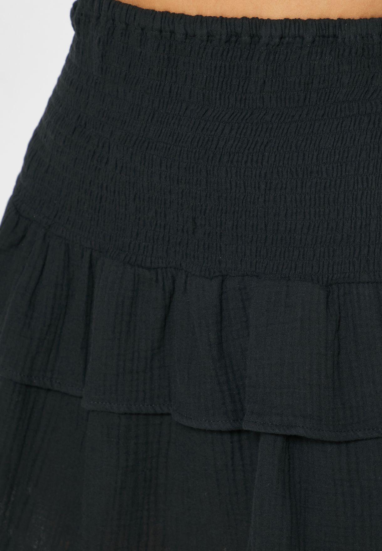 Ruffle Detail Skirt