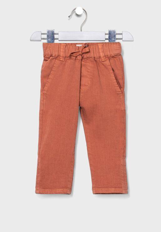 Kids Tie Waist Detail Trouser