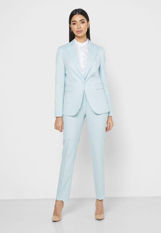 Tailored Blazer & Pant Suit