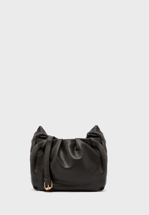 Tie Handle Pouch Bag