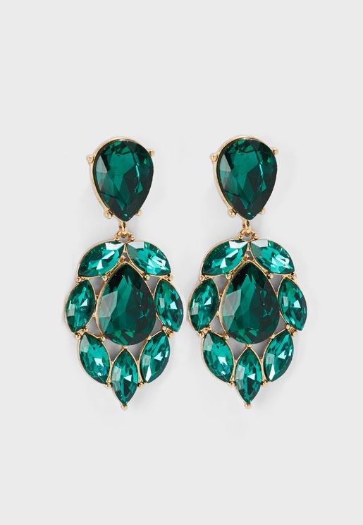 Silje Stone Statement Earrings