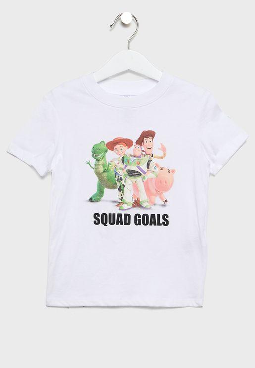 Kids Squad Goals T-Shirt