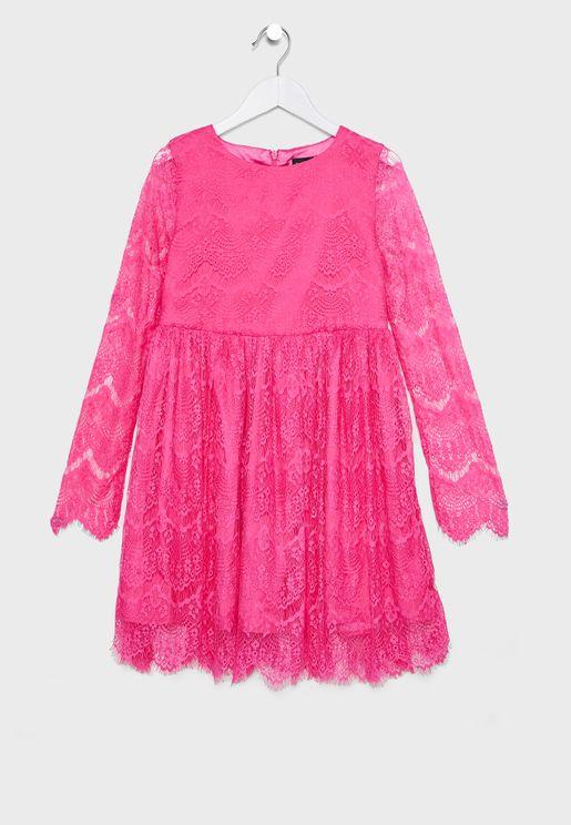 Teen Gertrude Lace Dress