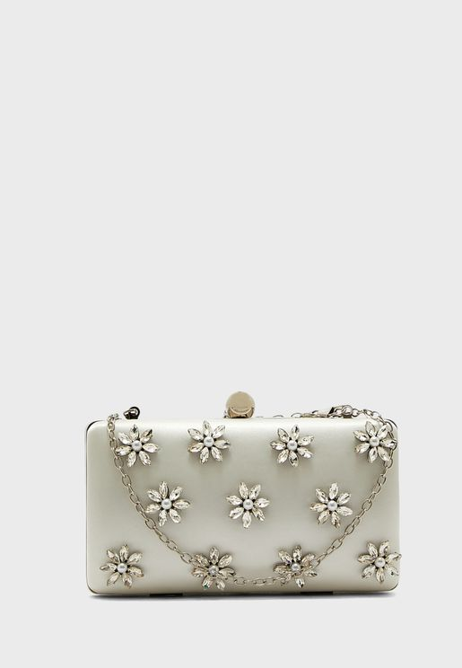 Casual Floral Clutch
