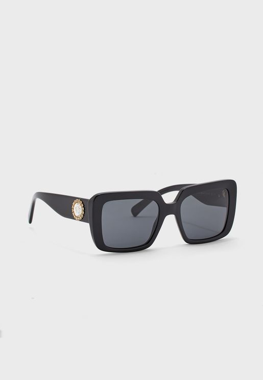 0VE4384B Oversized Sunglasses
