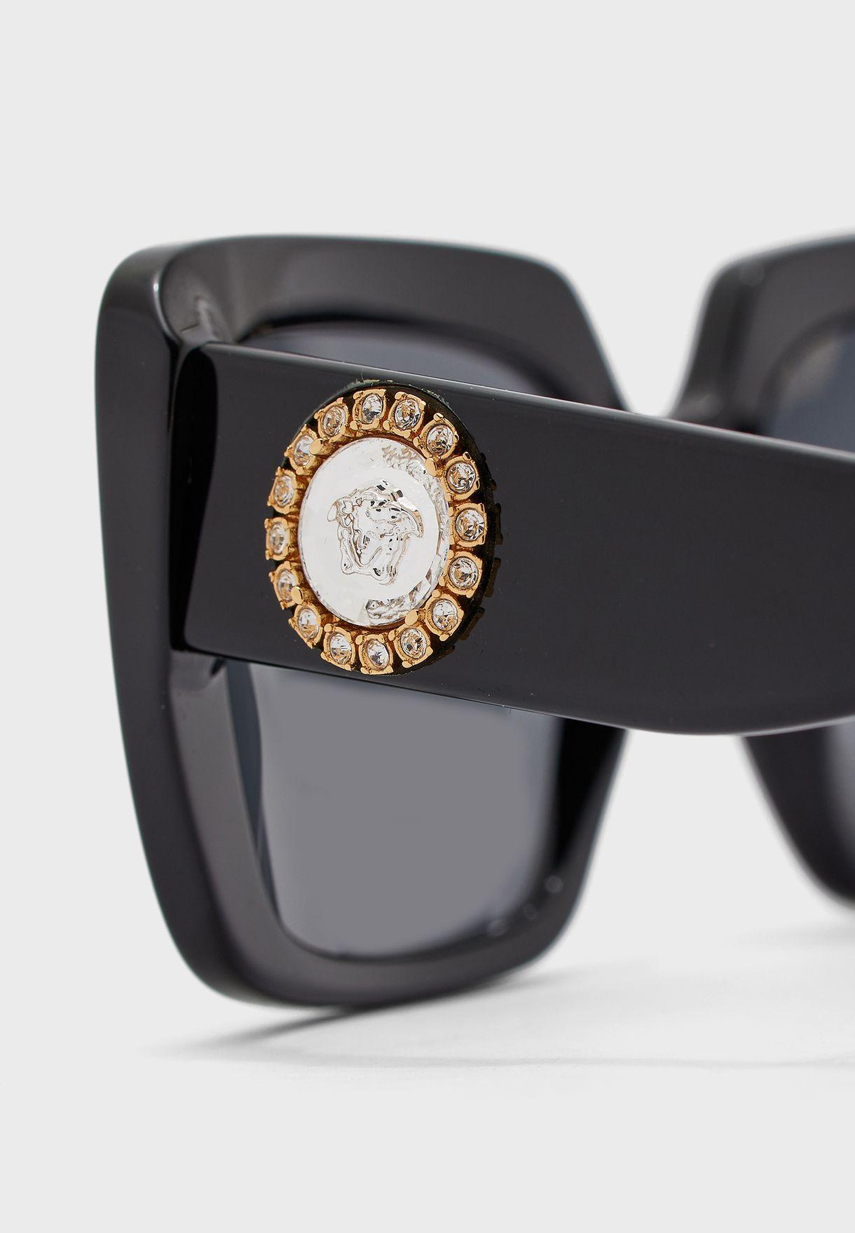 0VE4384B Oversized Sunglasses