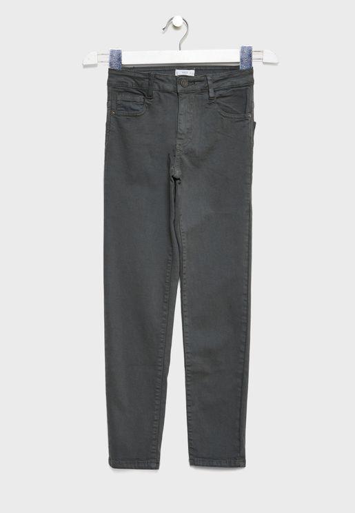Kids Slim Fit Trousers