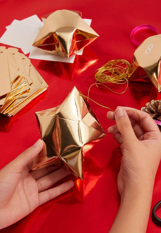 Christmas 3Mtr Glitter Advent Kit