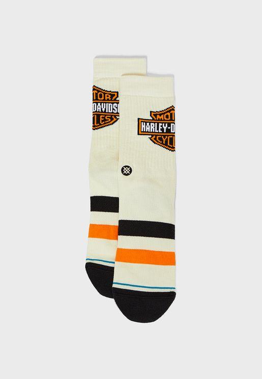Harley Classic Crew Socks