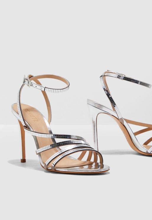 Spechio Heel Sandal