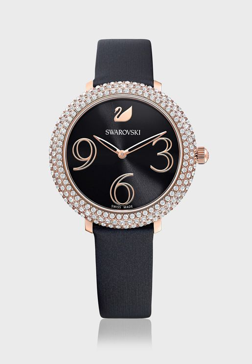 Crystal Frost Analog Watch
