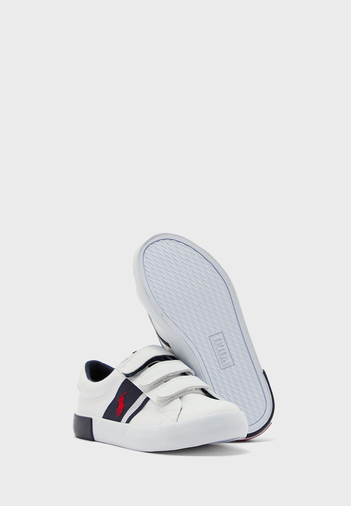 Kids Strap Sneaker