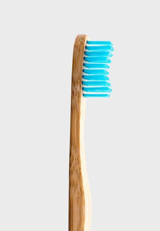 فرشاة اسنان طبيعية - ازرق