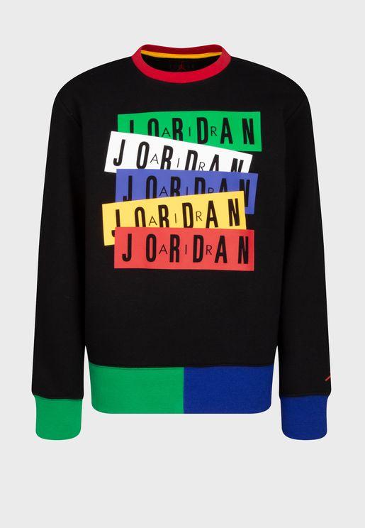 Youth Jordan Legacy Of Sport Sweatshirt