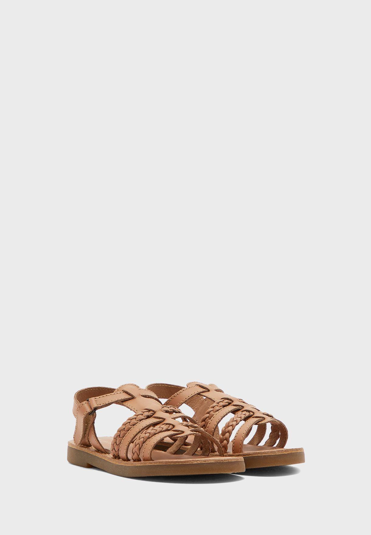 Kids Multi Stripped Sandal