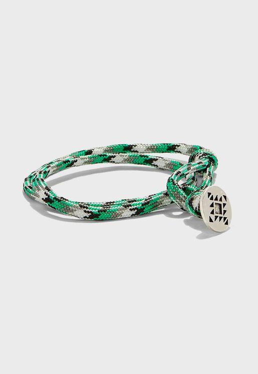 Abseil Cord Wrap Bracelet