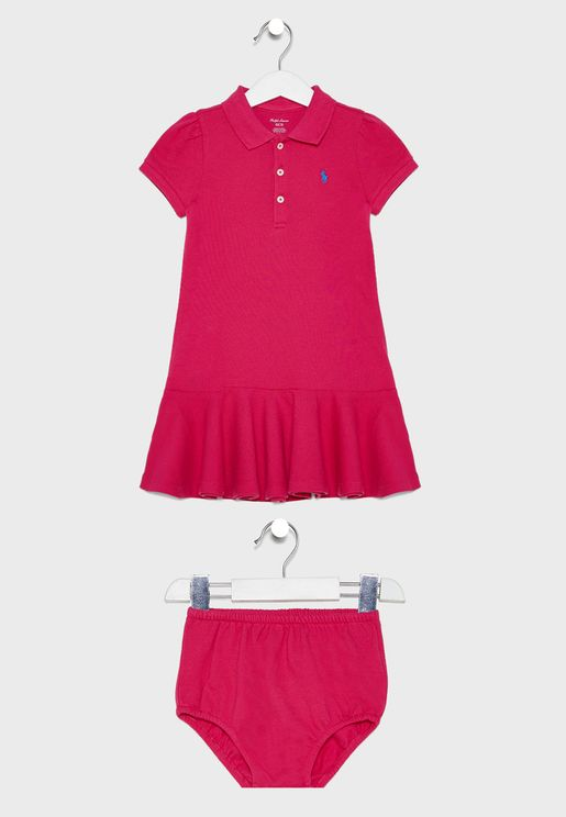 Infant Shirt Look Dress