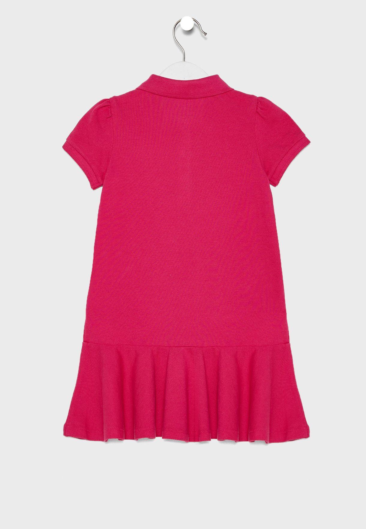 Infant Shirt Look Dress
