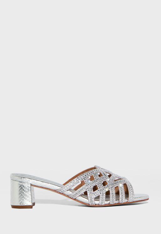 Trina Mid-Heel Sandal