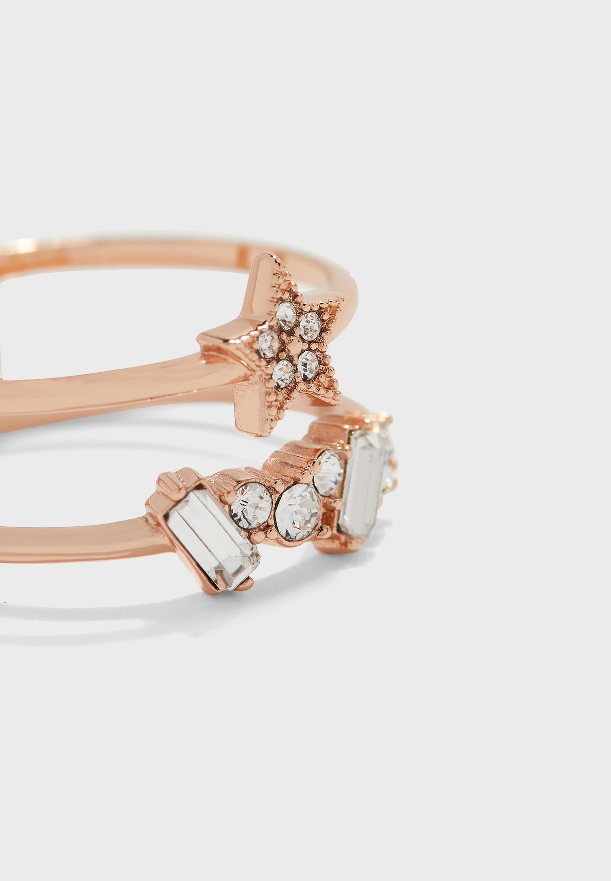 Celestial Double Band Ring