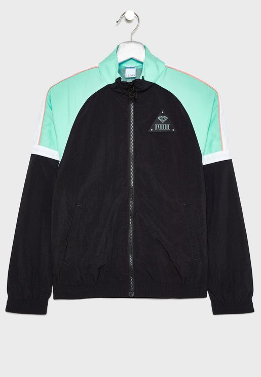 Kids Diamond Track Jacket