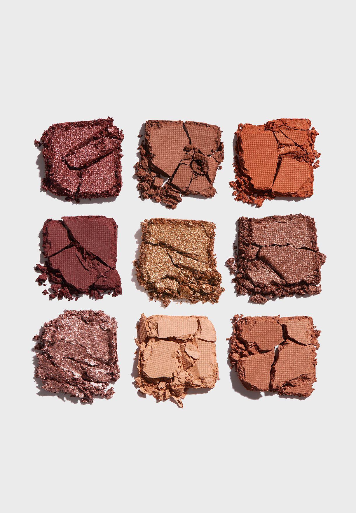 9 Shade Eyeshadow Palette - Rusts