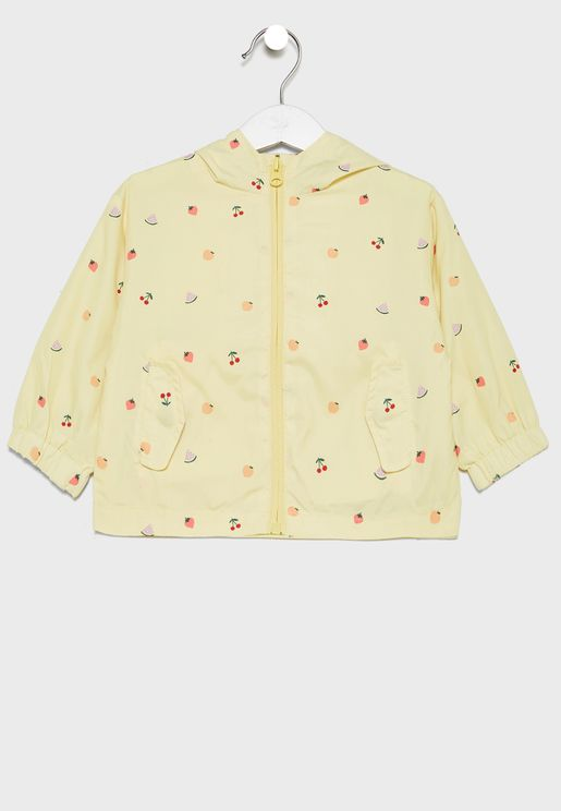 Kids Fruits Print Jacket