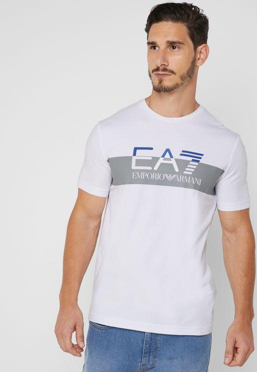 7 Colours Crew Neck T-Shirt