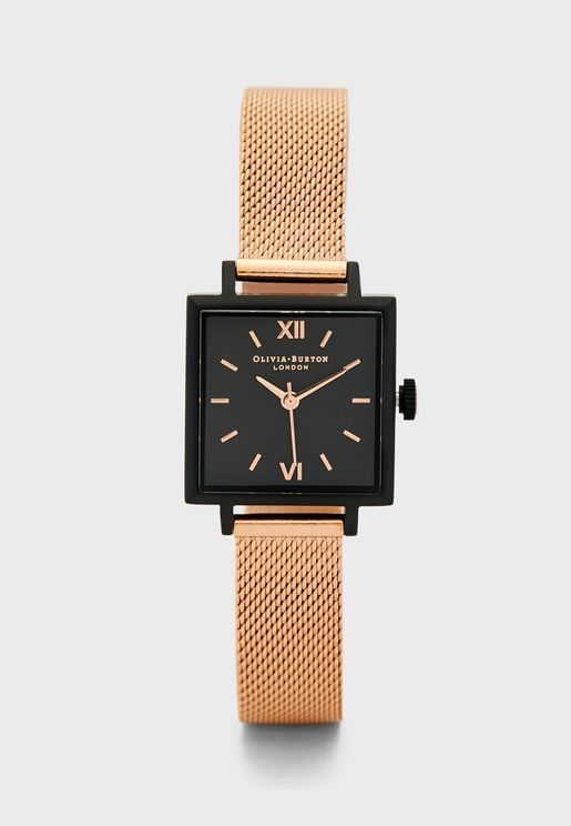 Square Dials Analog Watch