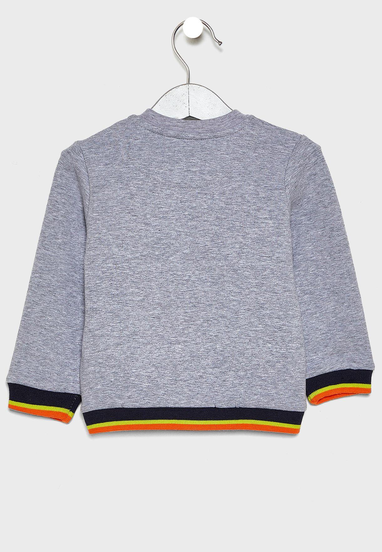 Kids Graphic Sweatshirt + Jogg Jeans Set