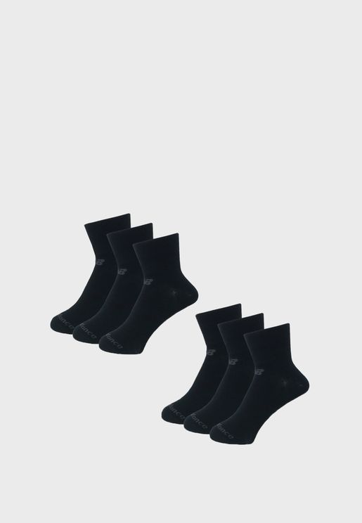 6 Pack Performance Knit Ankle Socks