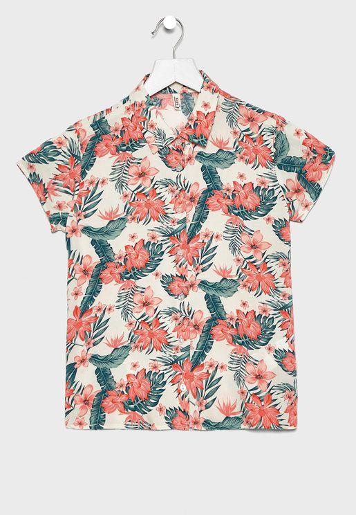 Kids Printed Shirt