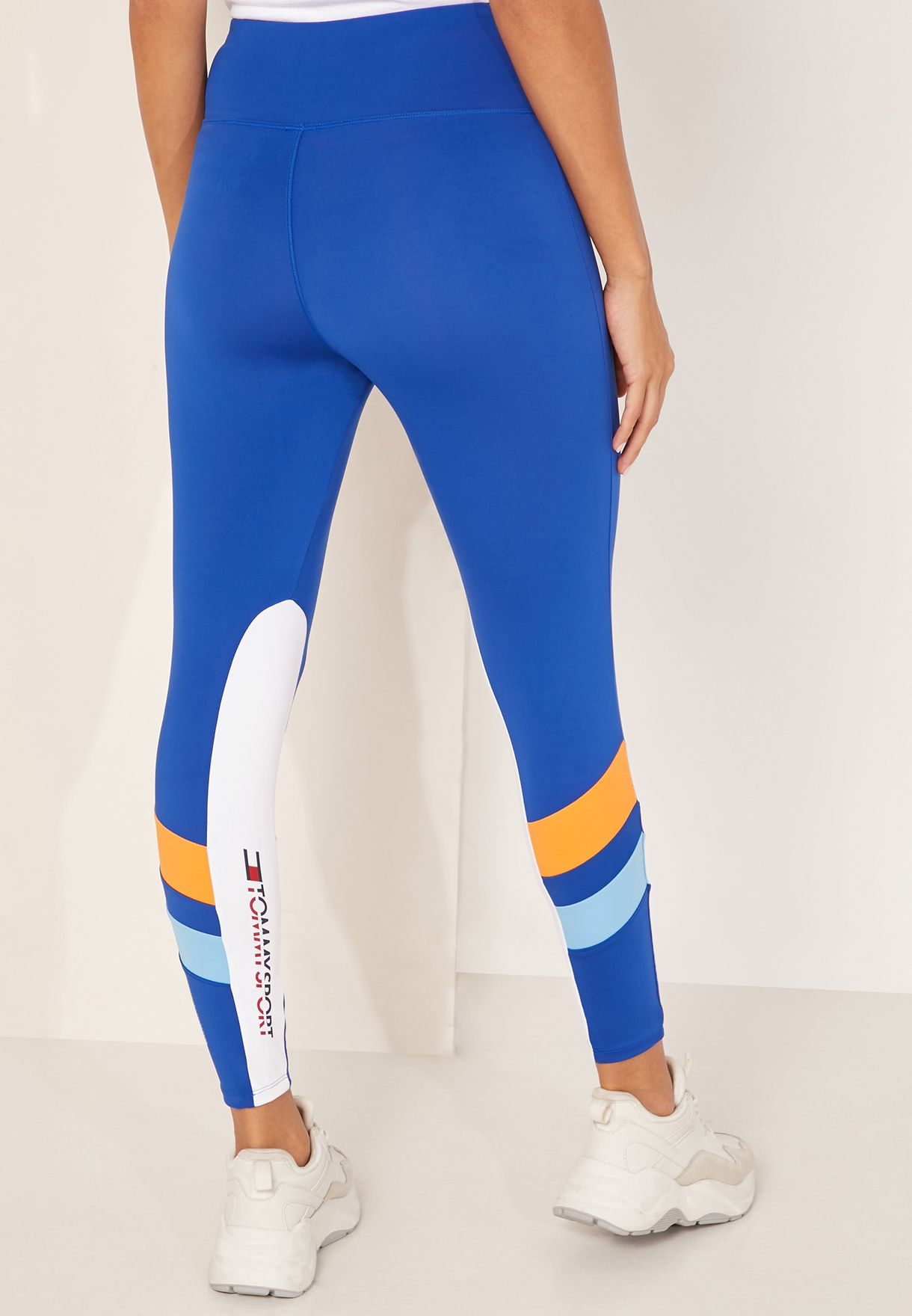 Panel Block Leggings