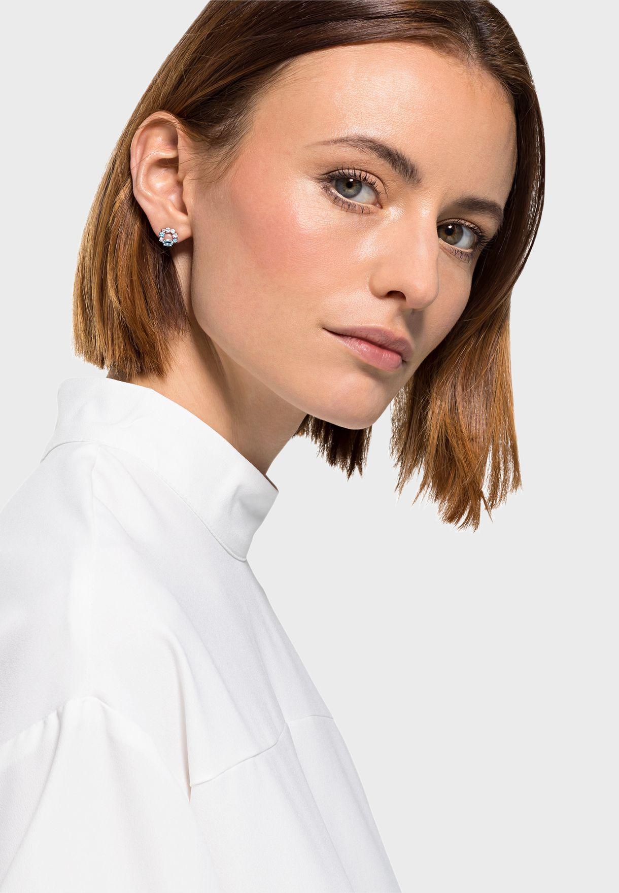 Attract Circle Stud Earrings