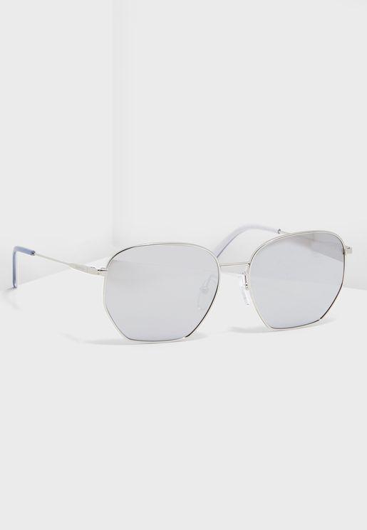 CK19102S Square Sunglasses