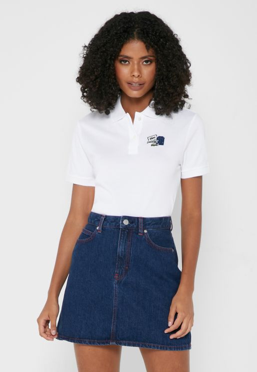Graphic Patch Polo