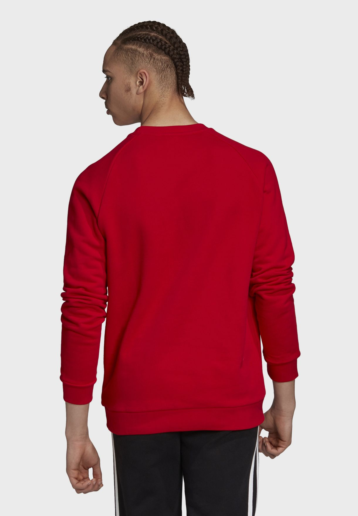 Trefoil Crew Adicolor Casual Men's Sweatshirt