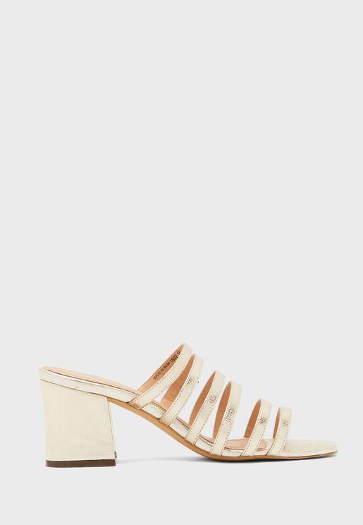 Multi Strap High Heel Sandal