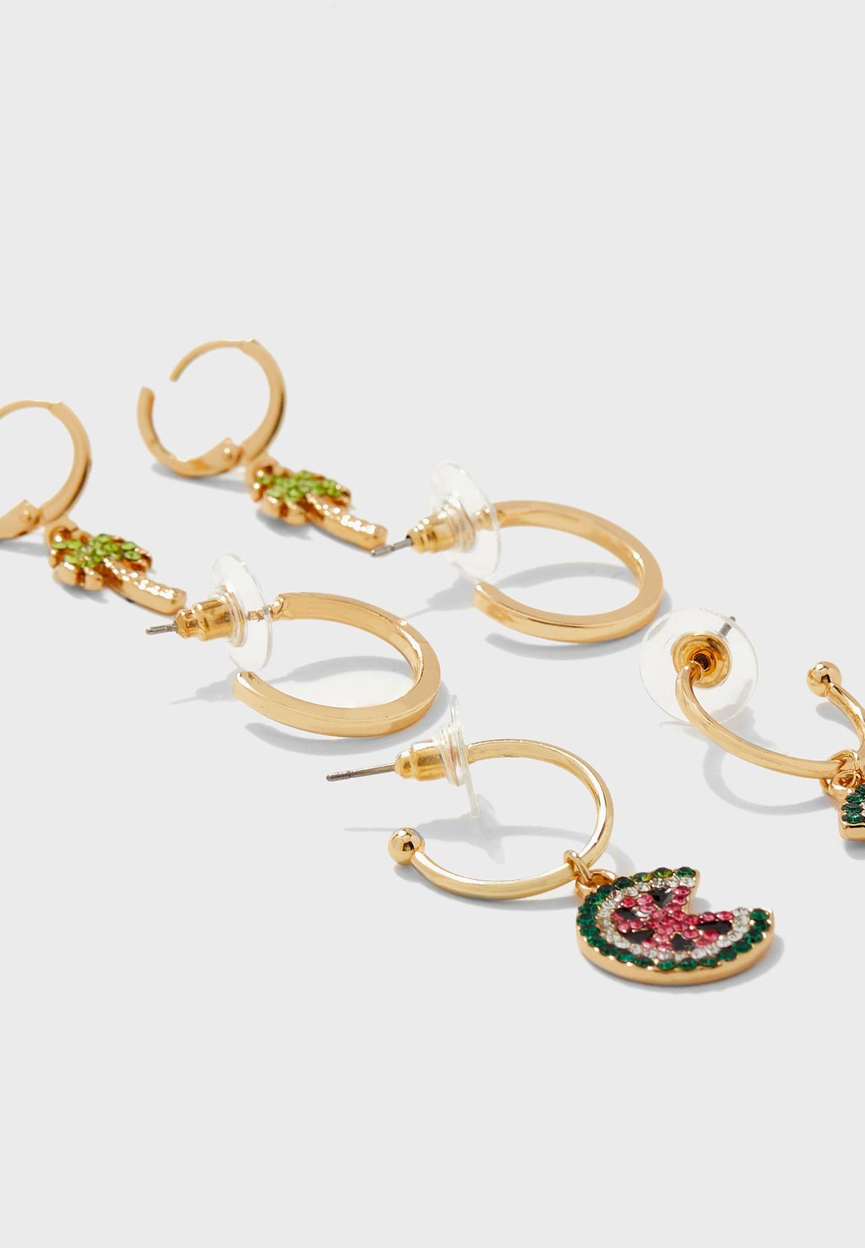 Multipack Amald Earrings