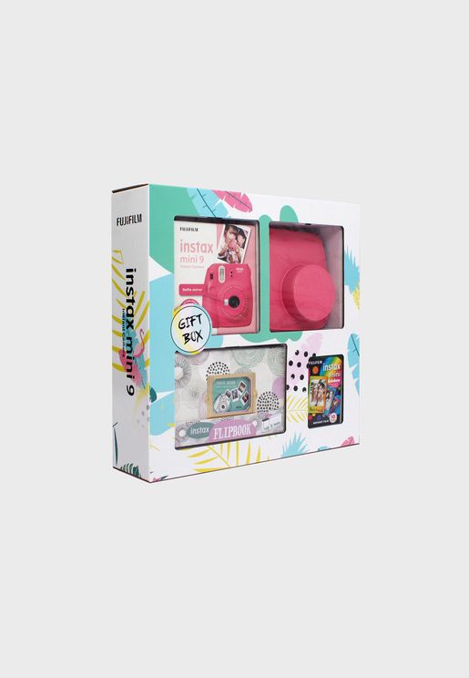 Instax Mini 9 Gift Box- Pink
