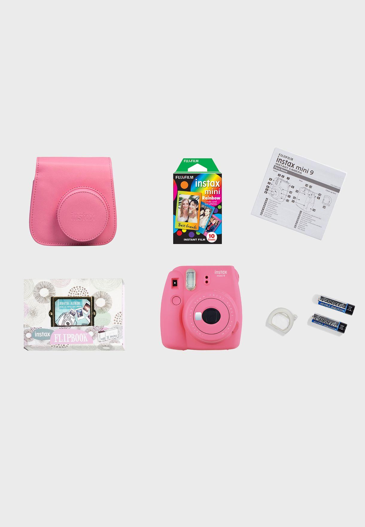 Instax Mini 9 Gift Box- Pink