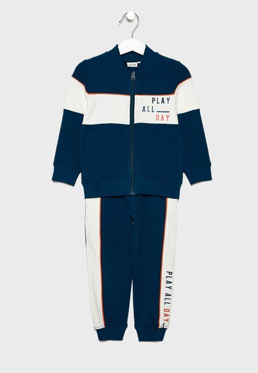 Kids Play All Day Tracksuit