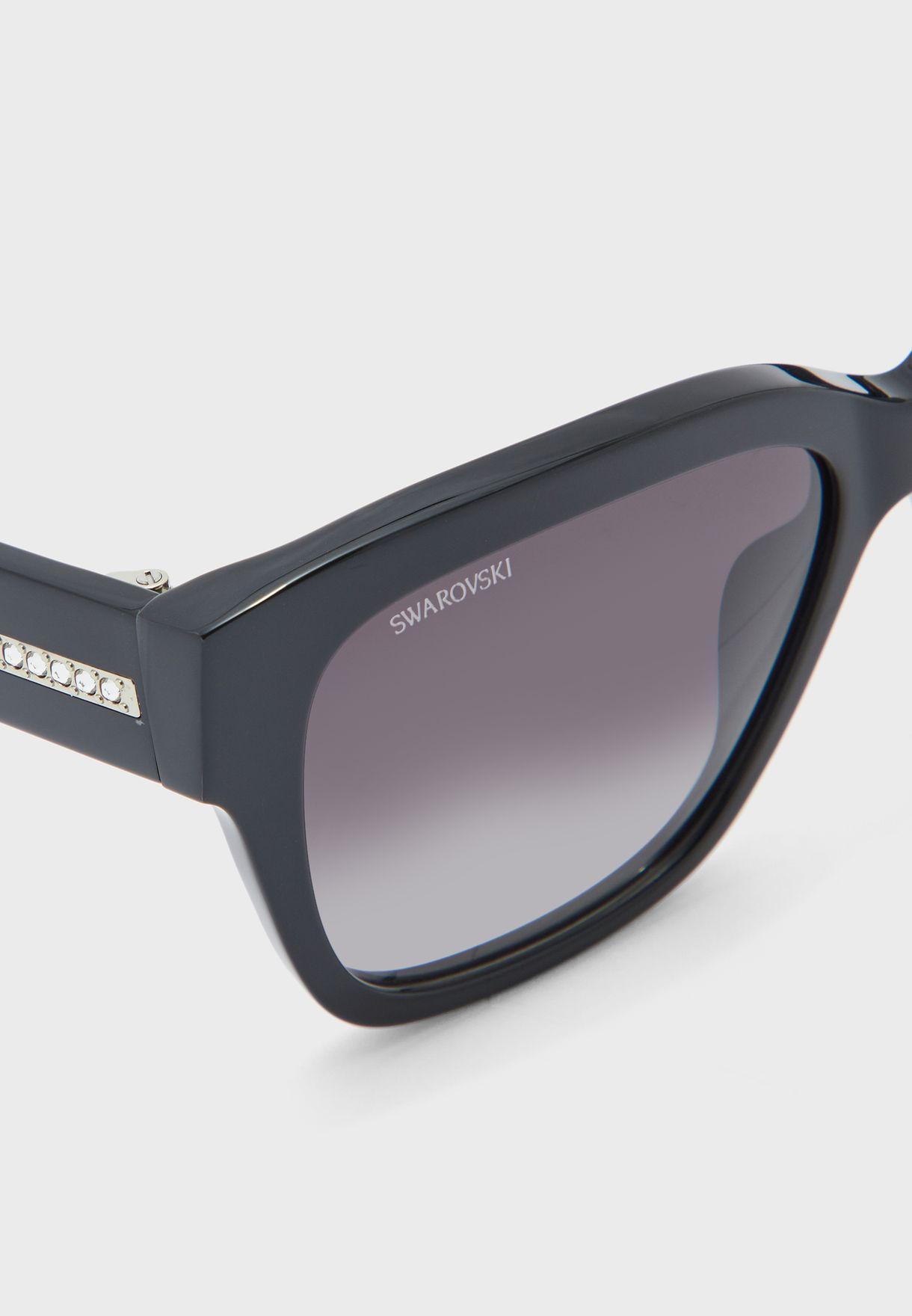 SK0305 01B Wayfarer Sunglasses